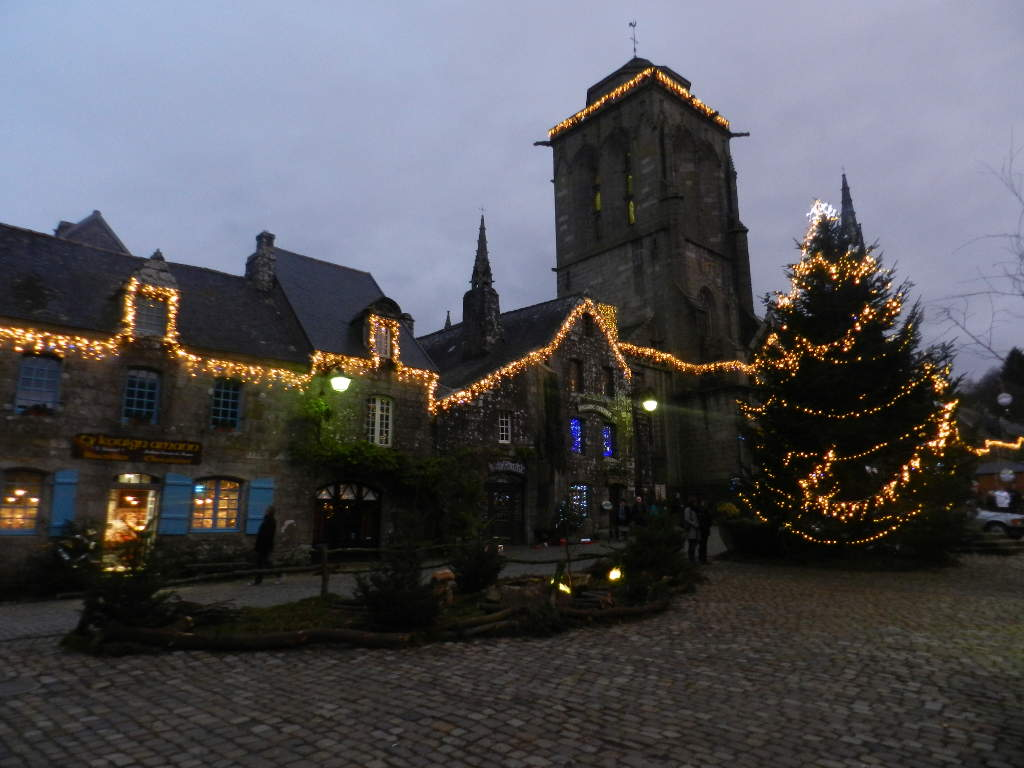 Locronan, un des plus beaux village de france<br/> à 20 minutes